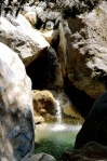 Samaria Gorge waterfall